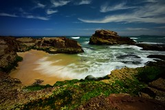 Dunbogan Rocks (Paul Hollins) Tags: seascape rocks waves australia newsouthwales aus portmacquarie midnorthcoast camdenhead dunbogan nikon1635mmf4 nikond750