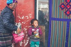 In Lhasa (Elmar Bajora Photography) Tags: china road street people mountains art heritage temple ancient asia asien buddha buddhist strasse buddhism tibet monastery tibetan remote himalaya centralasia lhasa topoftheworld tar tempel culturalheritage lasa gebirge barkhorsquare barkhor hochland roofoftheworld hochebene tibetplateau   autonomeregiontibet tibetanautonomusregion