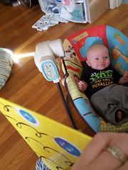 Enjoying the book (quinn.anya) Tags: baby paul reading book potd kotd46