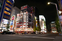 P1020029.jpg (Ryosuke Yagi) Tags: building night buildings tokyo town view shot nightshot scene electronics  akihabara nightscene nightview electronic   electronictown