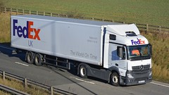 DK63 JFX (panmanstan) Tags: truck wagon mercedes yorkshire transport lorry commercial delivery vehicle freight mp4 haulage hgv southcave actros a63