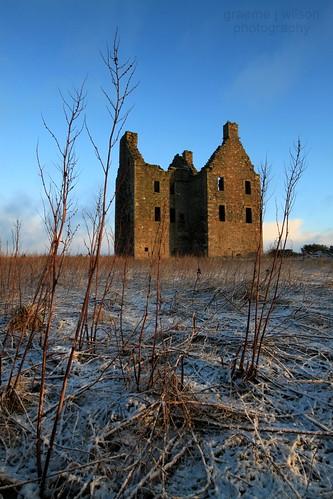 Knockhall Castle, Aberdeenshire