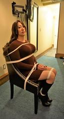 Slave Hotel (Amanda Bound) Tags: bondage bdsm sissy bd slavery crossdresser kidnapped abducted ropebondage sweaterbondage