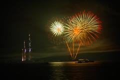 Fireworks At Kuwait Towers - 5th March 2016 (CamelKW) Tags: fireworks kuwait kuwaitcity kuwaittowers 5thmarch2016 kuwaitfirewarks2016