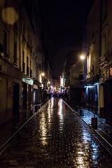 Rue de Lappe (::nicolas ferrand simonnot::) Tags: street light paris rain de photography asahi takumar super m42 flare 24mm f56 rue reflexion | f35 lappe 2016 optco