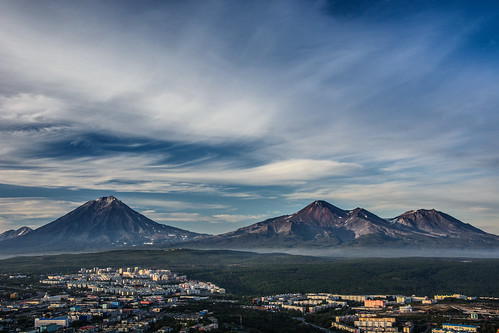 Amazing Sky over Kamchatka ©  kuhnmi