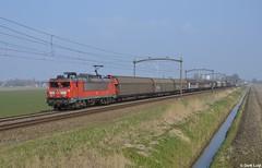 DB Cargo 1612, Zevenbergen, 11-3-2016 12:25 (Derquinho) Tags: db cargo uc vlissingen dbs unit sloe schenker dbc 1612 verbrugge zevenbergen kijfhoek 61071
