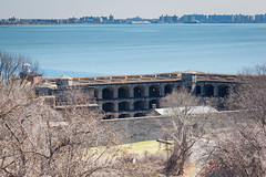 Fort Wadsworth (Erin Cadigan Photography) Tags: city nyc newyorkcity light urban lighthouse ny newyork building history stone architecture brooklyn river concrete outdoors harbor war fort military structure historic hudson statenisland fortress protect fortwadsworth batteryweed