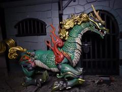 Kirin Sitting (ridureyu1) Tags: toy toys actionfigure qilin kirin kaiyodo toyphotography revoltech jfigure holybeast sonycybershotsonycybershotdscw690 kaiyodotakeyashikijizaiokimono