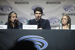 Ciara Rene, Brandon Routh & Caity Lotz (Gage Skidmore) Tags: california los angeles brandon center renee franz convention marc ciara legends guggenheim tomorrow caity routh wondercon 2016 lotz drameh