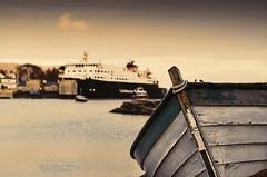 Boats (AFEXPhotography) Tags: sunset sea scotland boat ship calmac hebrides tarbert macbrayne caladonian