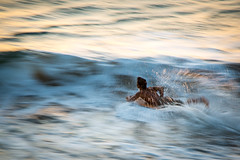 Paddling Out (Envios) Tags: sunset surf maui boogieboard kaanapalibeach mauilife