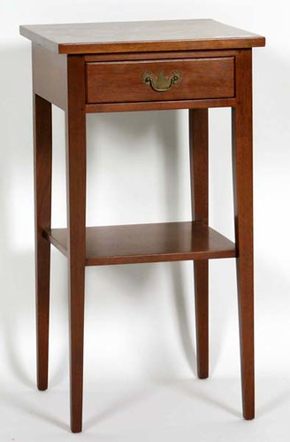 Suters Walnut One Drawer End Table - $385.00