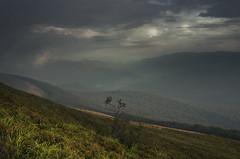 v_a_l_l_e_y (adam_dunikowski) Tags: light sky mountains clouds warm hills bieszczady slopes