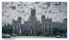 Ayuntamiento de Madrid. Palacio de Cibeles /Madrid City Council. Palacio de Cibeles / (Jos Mara Gmez de Salazar) Tags: madrid cibeles ayuntamiento ayuntamientodemadrid palaciodecibeles