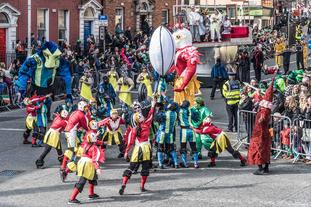 GAME ON BY CITY FUSION [DUBLIN 2016 PATRICK'S DAY PARADE]-112567