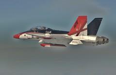 CF-188 (aeroman3) Tags: canada aircraft air ab airshow hornet airforce avion cf18 coldlake cf188 spectaclearien cf18hornet forcearienne specialcolour peinturespciale
