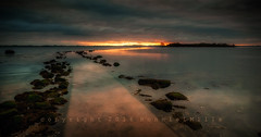 The Crack of Dawn (RonnieLMills) Tags: county ireland sunrise landscape island dawn nikon angle wide down crack rough northern tamron causeway waterscape newtownards 1024 d90 comber islandhill