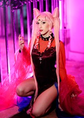 Sailor Moon (Sandman-AC) Tags: cosplay sailormoon blacklady luccacomics
