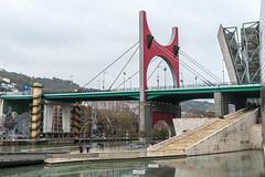 La Salve Bridge (Miguel.Galvo) Tags: bridge urban miguel canon frank landscape la spain country mam bilbao ponte louise guggenheim basco bourgeois maman basque f28 salve ghery pas galvo 40d