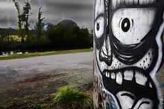 Promenade allah campagne (Jean-Luc Lopoldi) Tags: graph rivire ciel mur chemin monstre menaant halage