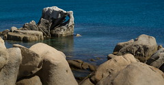 IMG_5252-Punta Molentis Roccia orso (Reietto) Tags: sardegna blue sea sky italy macro closeup clouds seaside mare sardinia cielo puntamolentis tamronsp1750f28 canoneos7d spiaggebeach cristiancarbini16 pasquetta2016 villasimiusitalia