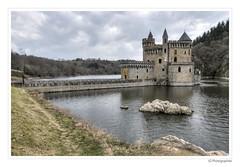 Chteau de la roche (JG Photographies) Tags: france french europe lac paysage loire chteau roanne fodal hdrenfrancais lacdevillerest saintpriestlaroche canon7dmarkii jgphotographies