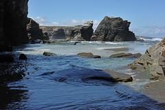 Playa de las Catedrales (TerePedro) Tags: espaa mar agua playa lugo catedrales piedra cantbrico