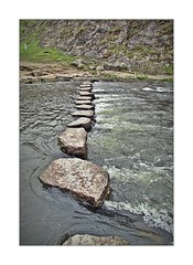 Dovedale Stepping Stones (mr_snipsnap) Tags: park water river easter stones district dove derbyshire peak national stepping dovedale