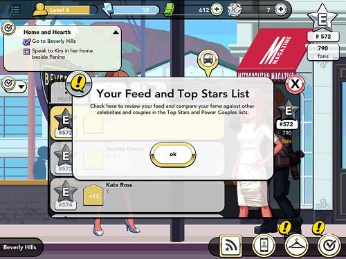 Kim Kardashian: Hollywood Info: screenshots, UI