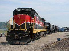 NCIR 4094 (GLC 392) Tags: new railroad ohio castle train industrial central engine 7 railway super run steam shops oh locomotive morgan 7s 6325 ncir 1292 4094 ohcr b237r