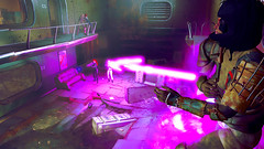 593 (Beth Amphetamines) Tags: pink cambridge wallpaper outfit screenshot mix holding pretty purple ghost rifle shell gits redhead labs laser inthe dying blasts beams lazer lizzy distant kusanagi cybernetic polymer n7 raider motoko fallout4 vaultsuit