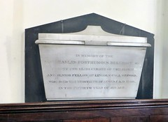 Posthumous - Collyweston Northamptonshire (jmc4 - Church Explorer) Tags: church memorial northamptonshire belgrave collyweston
