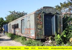 Philippine National Railways - Naga Division (alcogoodwin) Tags: philippines transport passengers boxcar passenger railways bicol naga philippinenationalrailways philippinerailwayshistoricalsociety 7c105