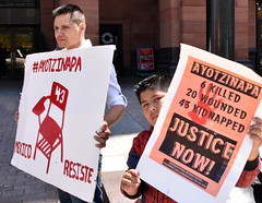 April 26 Philly Ayotzinapa 43 Protest (joepiette2) Tags: mexico demonstrations protests ayotzinapa