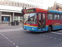 Go North East - 4808 - L208KEF - GoNorthEast20040914 (Gary Mitchelhill) Tags: street city travel bus newcastle volvo go north east gne alexander ok tyneside strider gonortheast 4808 b10b throckley x82 l208kef
