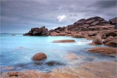 Ploumanac'h (guillaumez.wix.com/photographie) Tags: ocean beach rose rocks bretagne olympus breizh granite perros cote paysage britany ploumanach guirec oceanscape em5