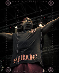 PUBLIC ENEMY @ Arena - MILANO @ 12th July 2011 - 01 - 8717 (hanktattoo) Tags: black public animal one d hard carl soul funk chuck panthers hip hop rhyme enemy iconography rhymer politic numer ridenhour