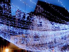 Guirlandes de lumire (Leonce Markus) Tags: light house night lights town bourges lumire garland maison nuit ville guirlande lumires