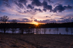 Sunset in Nuuksio (tuomas.mutanen) Tags: finland march scenery filter nuuksio graduated cokin nd3