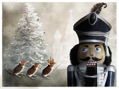 The Nutcracker and the Mouse King (violscraper) Tags: christmas ballet mouse king russia story sword nutcracker crown stbasilscathedral makeitinteresting