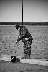 Catch (jptoivon) Tags: sea fish man male water bucket spring nikon estonia angle baltic fisher catch d800 viro 2016 kevt haapsalu