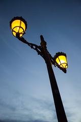 Farola. Atardecer en Almonaster la Real (AVazquez_Repi) Tags: espaa luz real atardecer la andaluca farola huelva almonaster