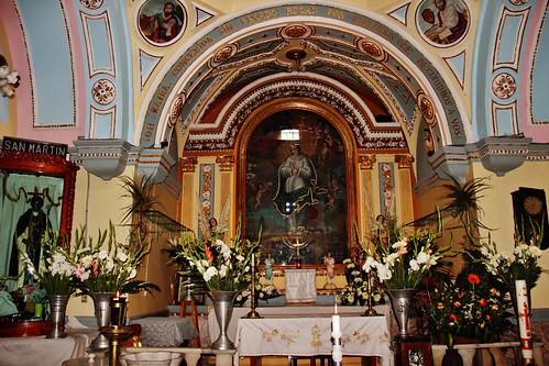 Altar Mayor, Santuario de la Inmaculada Concepción, San Pedro Yacuictlalpan, San Nicolás de los Ranchos, Pue.