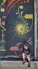 Follow the arrows. (RAWthentik951) Tags: california art graffiti child riverside sandiego ngc images arrows soe sonyalpha6000 rawthentik