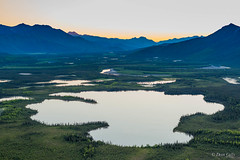 John River Valley 1083 (Vision Aerie) Tags: lake water alaska landscape pond aerial wilderness brooksrange gloaming johnriver bettles