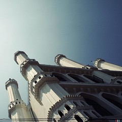 #flickr #tumblr #hipstamatic #g2 #blankofreedom13 #mosque #colombo #muslim #srilanka #ceylon (Bruno Abreu) Tags: instagram ifttt