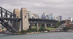 Sydney Harbour Bridge and North Sydney (davidparratt) Tags: sydney australia northsydney sydneyharbour sydneyharbourbridge