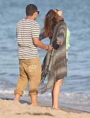 070312_SelenaFredo_005120703083931 (jairo amarante) Tags: ocean birthday beach sunglasses fulllength whiteshirt greyjacket whiteshorts denimshorts selenagomez