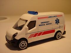 MAJORETTE RENAULT MASTER NO2 AMBULANCE 1/64 (ambassador84 OVER 5 MILLION VIEWS. :-)) Tags: ambulance renault majorette diecast renaultmaster